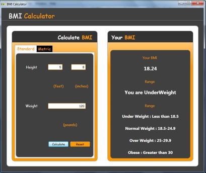 Download Free BMI Calculator