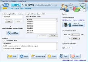 Download Free Bulk SMS Software For BlackBerry