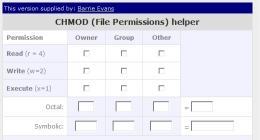 Download Free CHMOD calculator