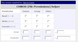 Download Free CHMOD calculator