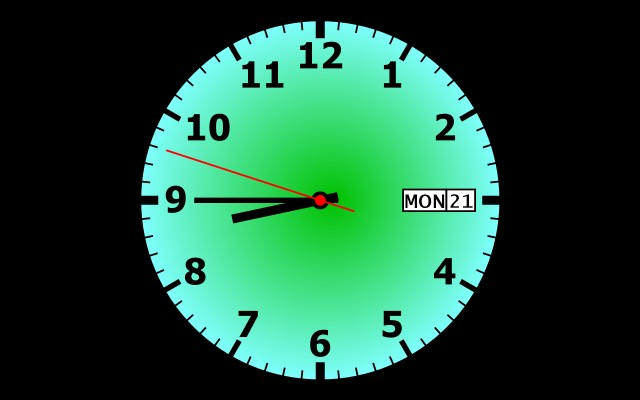 Download Free Clock Screensaver