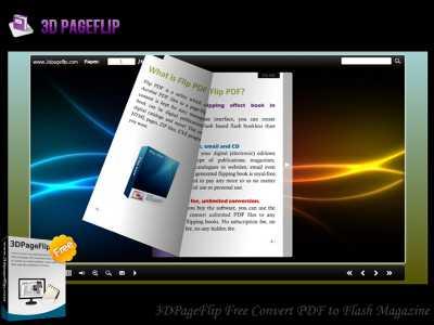 Free Convert PDF to Flash Magazine