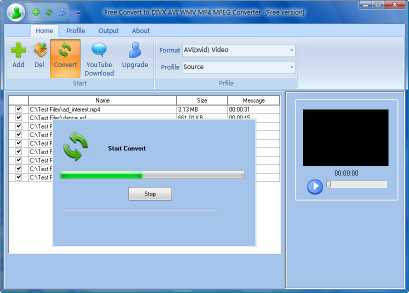 Download Free Convert to DIVX AVI WMV MP4 MPEG