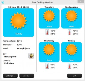 Download Free Desktop Weather