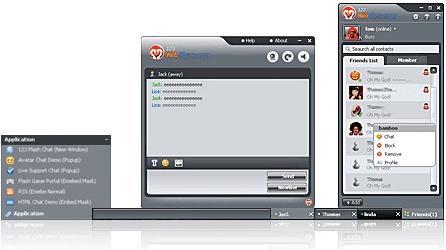 Download Free DotNetNuke IM of 123 Web Messenger