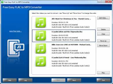 Download Free Easy FLAC to MP3 Converter