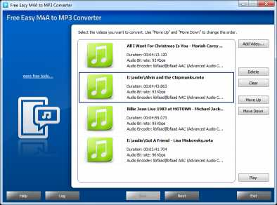 Download Free Easy M4A to MP3 Converter