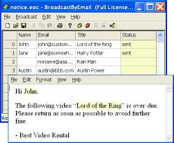 Download Free Email Marketing: Broadcast By Email
