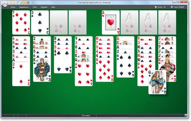 Download Free FreeCell Solitaire