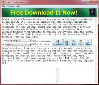 Download Free Google Translate Desktop