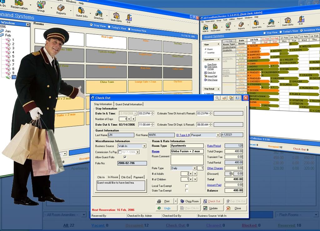 Free Hotel Software - standaloneinstaller com