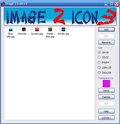 Download free Image 2 Icon Converter