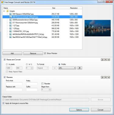 Download Free Image Convert and Resize