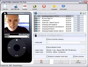Download Free iPod Video Converter