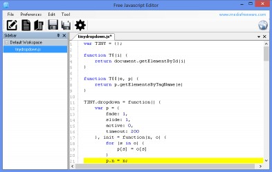 Download Free JavaScript Editor