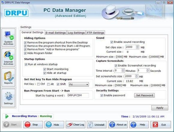 Free Keylogger Download - standaloneinstaller com