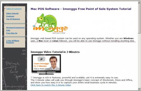 Download Free Mac POS System Imonggo Tutorial