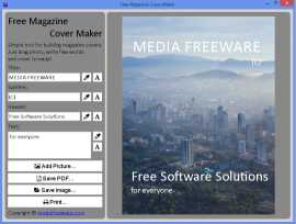 Free Magazine Cover Maker