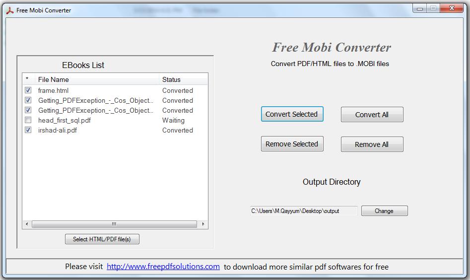 Free Mobi Converter Standaloneinstaller Com