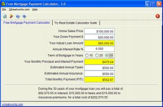 Download Free Mortgage Payment Calculator