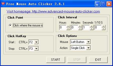 Download Free Mouse Auto Clicker