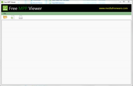 Download Free MPP Viewer