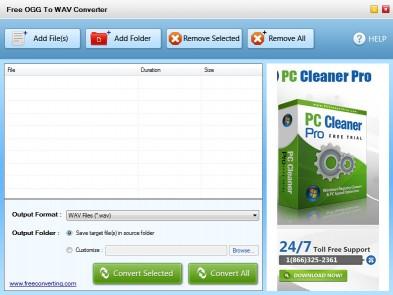 Download Free OGG to WAV Converter