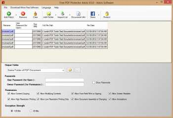 Free PDF Protector 4dots