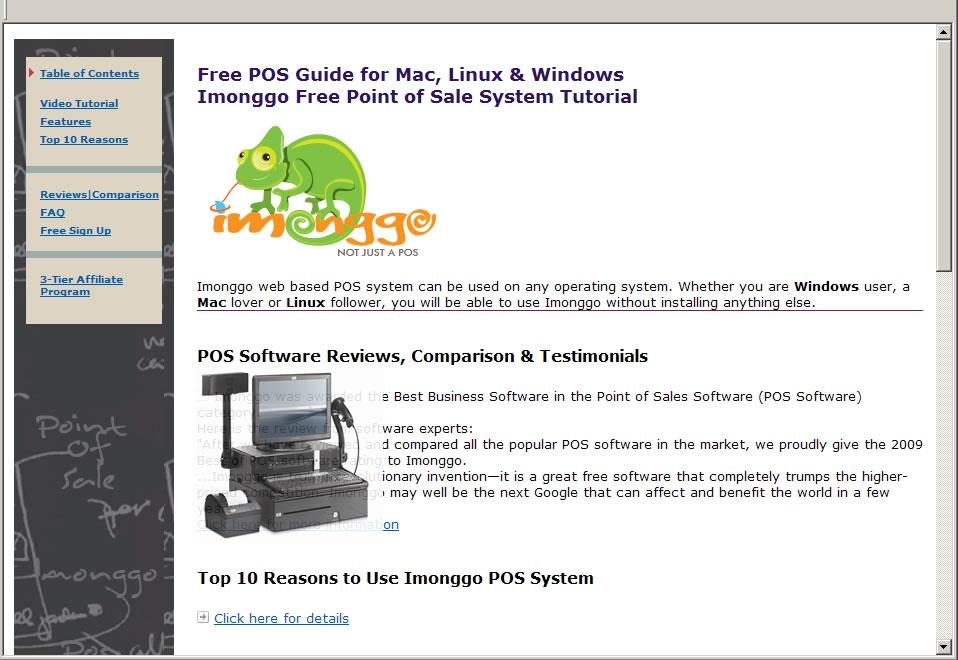Free POS Guide for Mac, Linux & Windows - standaloneinstaller com