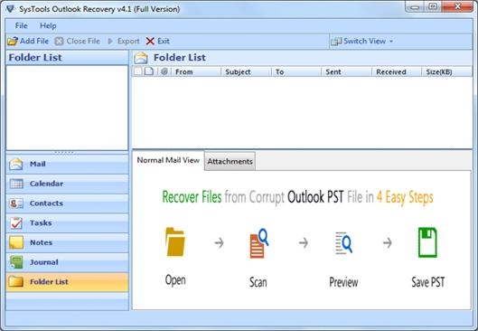 free pst repair tool outlook 2010