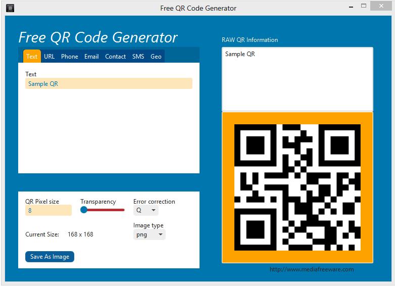 Free QR Code Generator - standaloneinstaller com