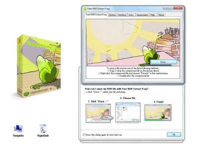 Download Free RAR Extract Frog installer