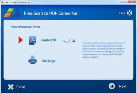 Free Scan to PDF Converter