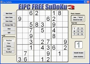 Download free SuDoKu