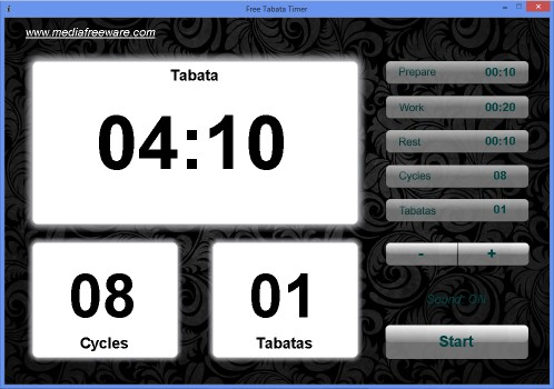 Download Free Tabata Timer