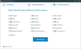 Free Trial iPhone Data Recovery for Wins