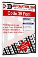 Free TrueType Barcode Font