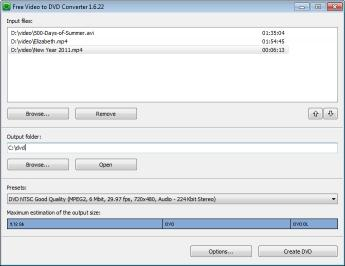 Download Free Video to DVD Converter