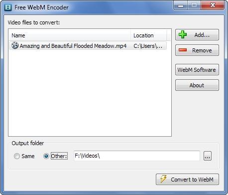Download Free WebM Encoder