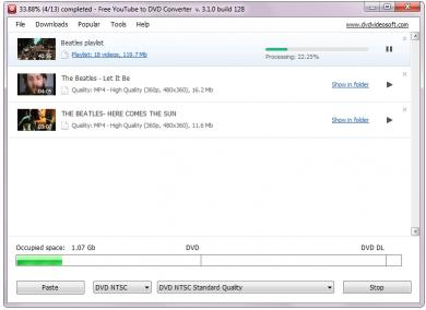 Download Free YouTube to DVD Converter