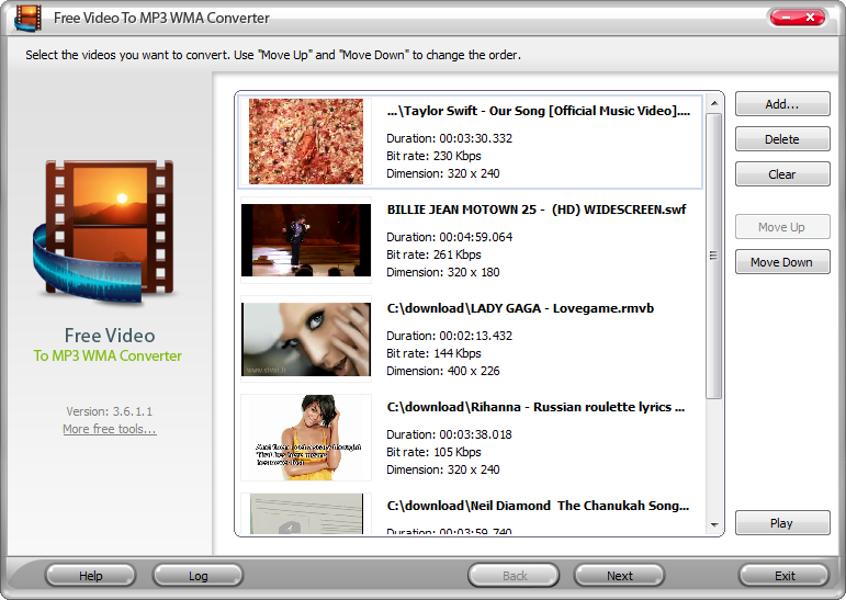 video to wma converter free download