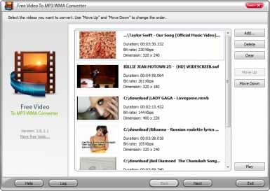 Free YouTube to MP3 WMA Converter