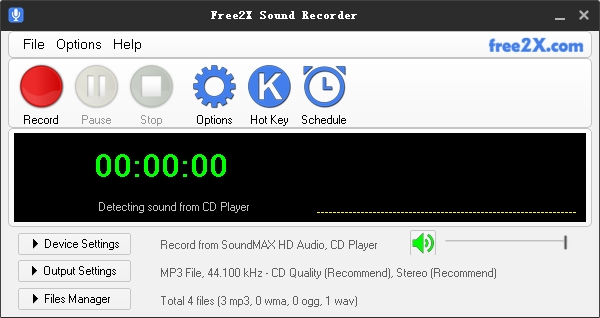 Audio recorder plus streaming audio recorder.