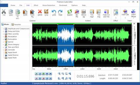 Download Freemore Audio Editor