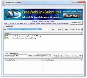 Download FreeWebLinkSubmitter
