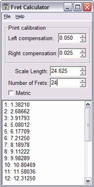 Download Fret Calculator