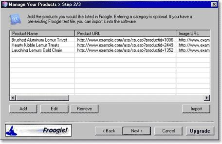 Download Froogie Froogle Submit