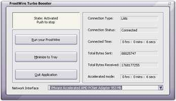 Download FrostWire Turbo Booster