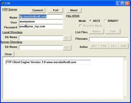 Download FTP Client Engine for Visual dBase