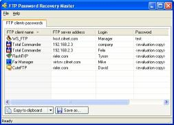Download FTP Password Recovery Master